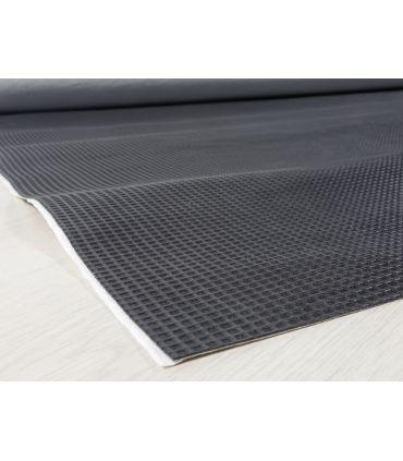 Base - Malla antideslizante con dibujo marcado muy eficaz. Adhesivo a la base de la alfombra.
