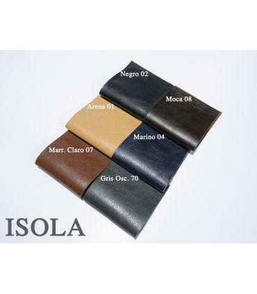 Borde de Cenefa de Piel Sintética. ISOLA. Colores.