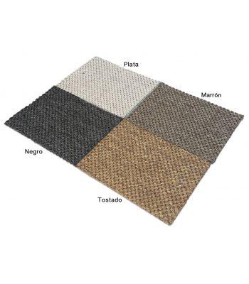 Royal 9. Colores.Alfombra de fibras sintéticas. Exterior-interior.
