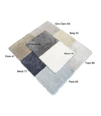 Platinum. Colores. Alfombra de fibras sintéticas.