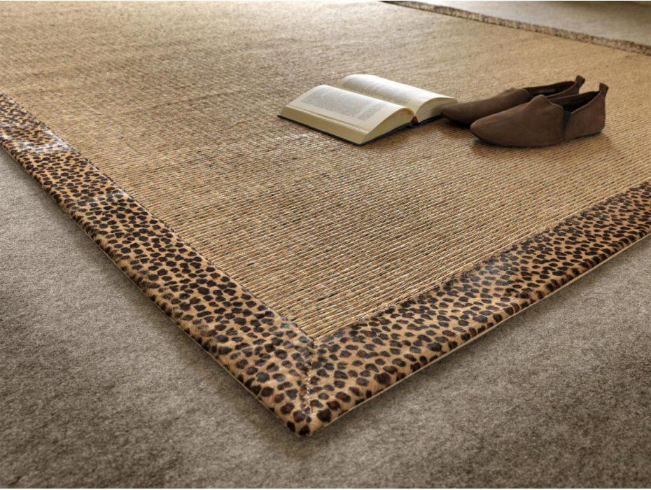 Alfombra a medida de fibra de madera y sisal tamisal beig - Alfombras de madera ...