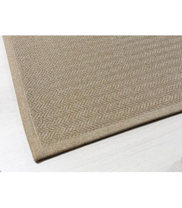 Alfombra a Medida Nature Premium Eco Craft. Color Wallnut. Borde Cenefa Nature PR Wallnut.