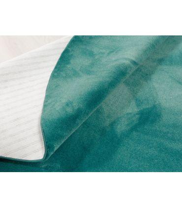 Riviera - Alfombra suave de fibras sintéticas. Detalle Festón.