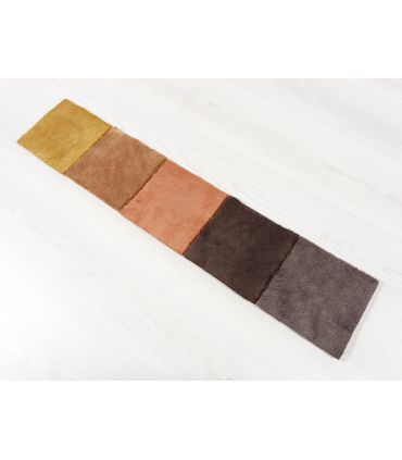 Riviera - Alfombra suave de fibras sintéticas. Carta de Colores.