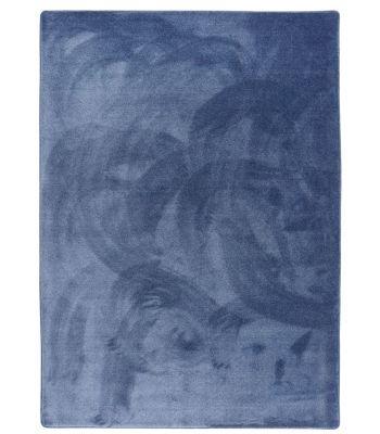 Alfombra Traviata. Color Sailor Blue 425. Borde Festón.