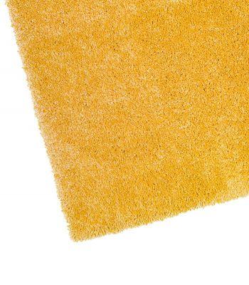 Alfombra a Medida de Pelo Largo Maxi 8. Color Amarillo.