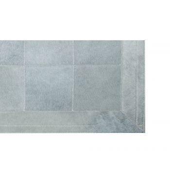 Alfombra Light Grey. Cuadros 30x30 cm. Con Cenefa.