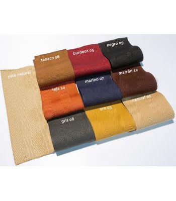 Bordes de Tela Microfibra. Colores.