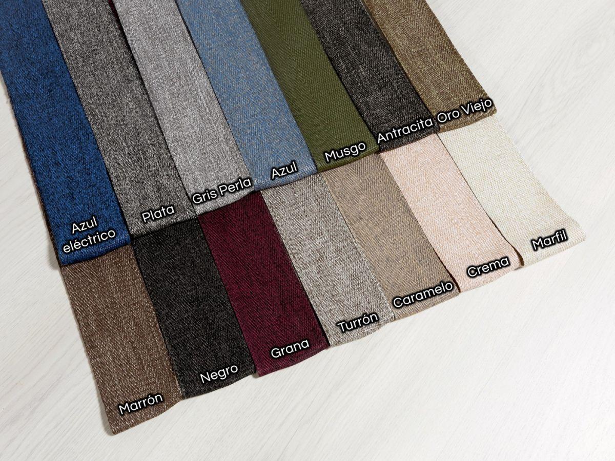 Alfombra a medida de fibra de madera y sisal tamisal beig negro jaspe - Alfombras de fibra ...